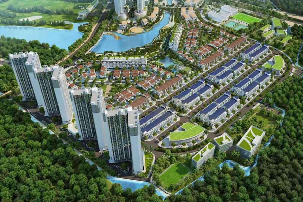 Tiến độ Ecopark Vinh cập nhật 2021