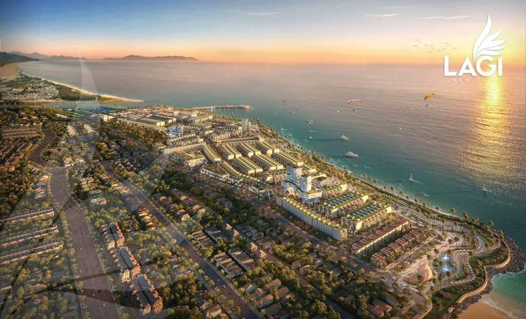 phoi canh du an lagi new city
