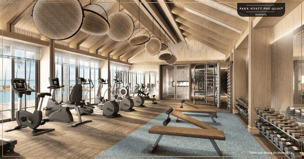 phong tap gym park hyatt phu quoc