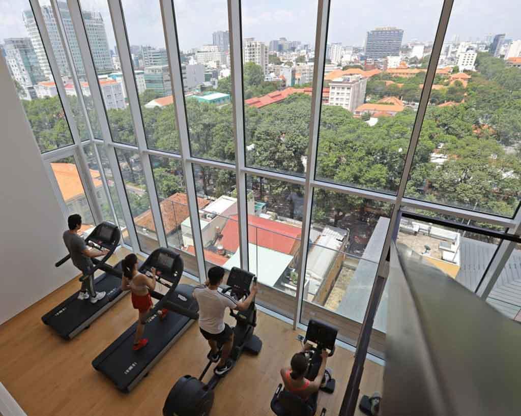 phong tap gym serenity sky villas