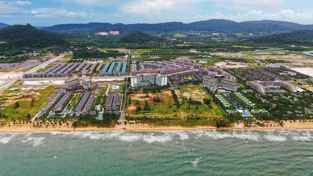 Tiến độ Sonasea Villas & Resort cập nhật 2021