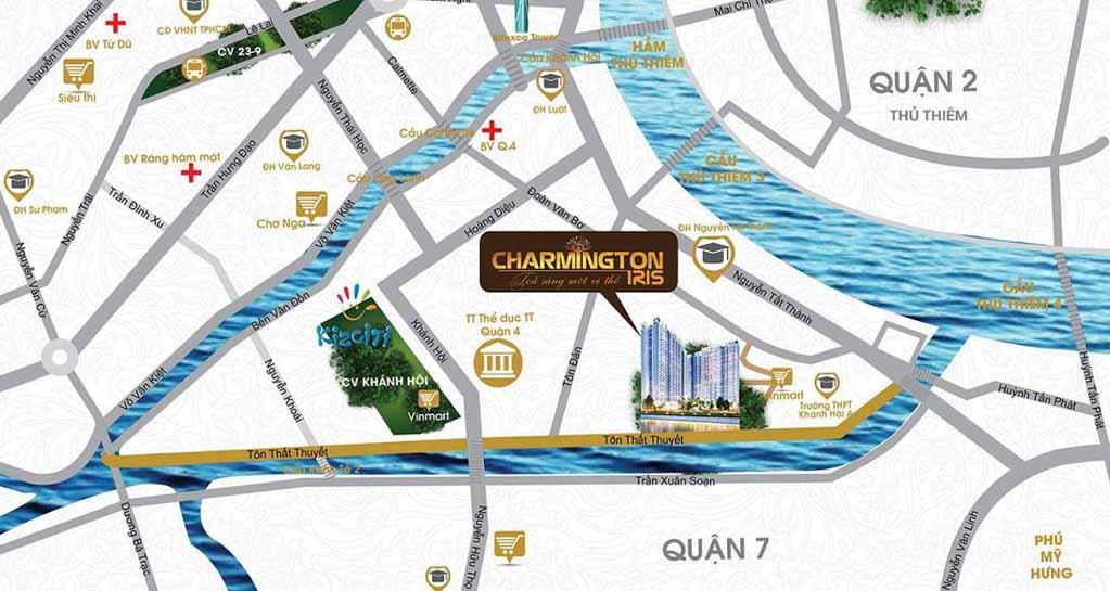 Vị trí Charmington Iris ở đâu? Có gì tiềm năng?