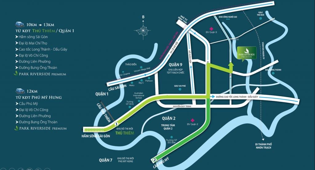 Vị trí Park Riverside ở đâu? Có tiềm năng gì?