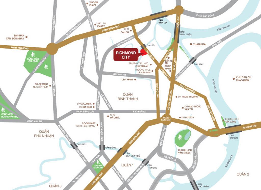 Vị trí Richmond City ở đâu? Có gì tiềm năng?
