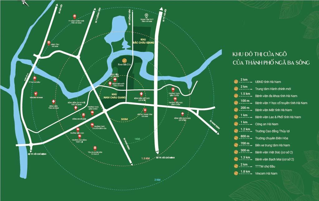Vị trí River Silk City ở đâu? Có gì tiềm năng?