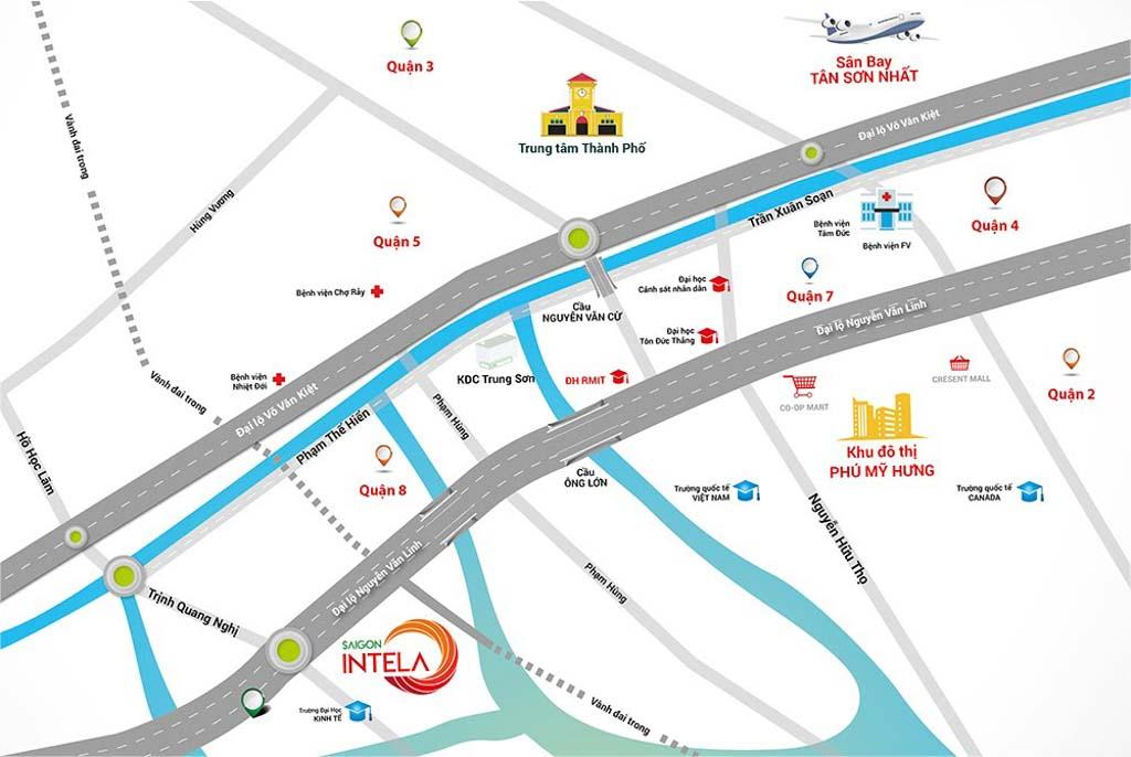 Vị trí Saigon Intela ở đâu? Có gì tiềm năng?
