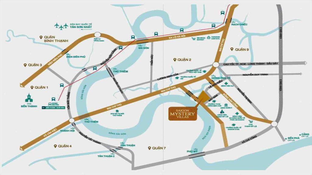 Vị trí Saigon Mystery Villas ở đâu? Có gì tiềm năng?
