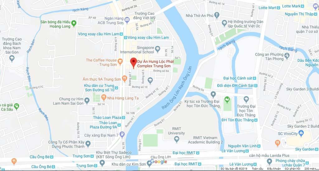 Vị trí Hưng Lộc Phát Complex ở đâu? Có gì tiềm năng?