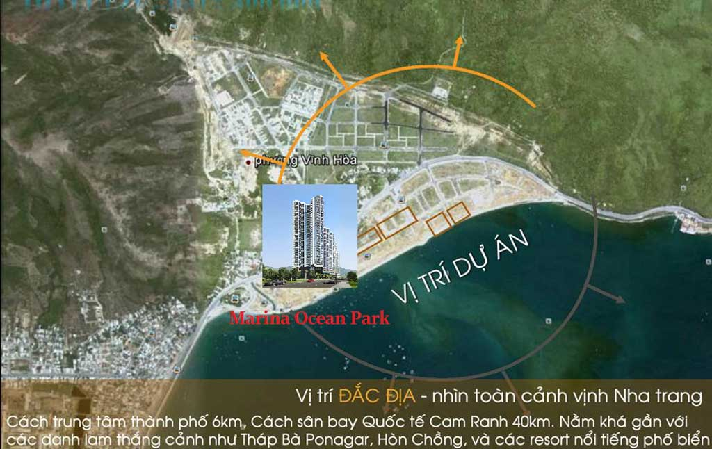 Vị trí Marina Ocean Park Nha Trang ở đâu? Có gì tiềm năng?