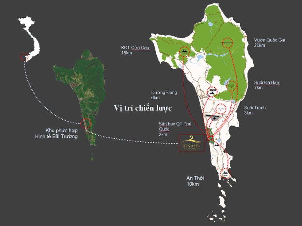 Vị trí Sonasea Villas & Resort ở đâu? Có gì tiềm năng?