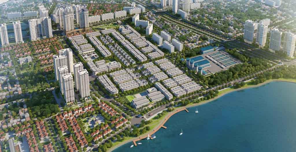 Tiến độ dự án Louis City Hoàng Mai cập nhật 2021