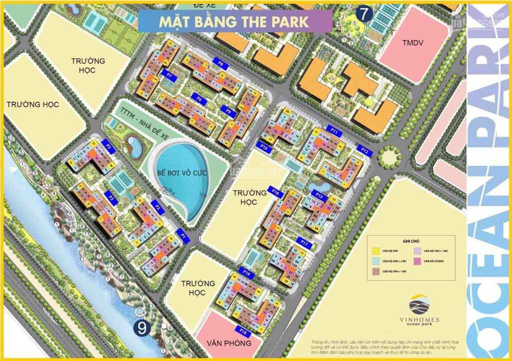 mat bang the zenpark