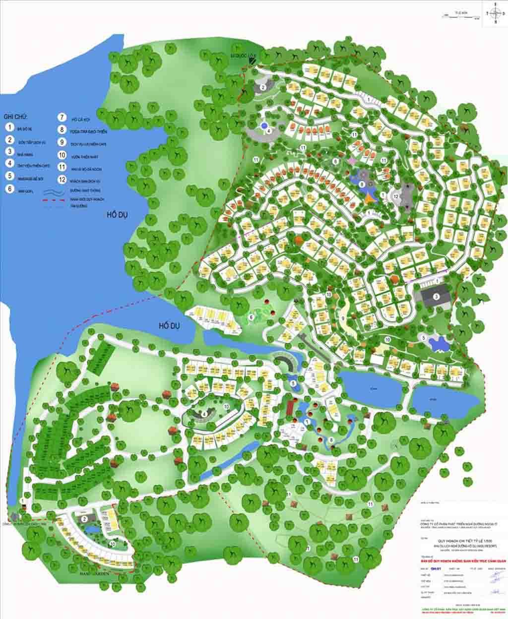 mat bang tong the sakana resort hoa binh