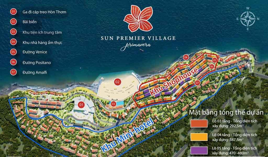 mat bang tong the sun premier village primavera