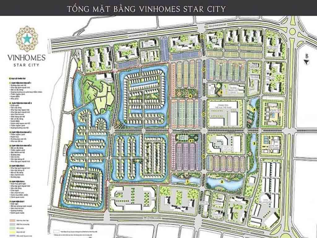 mat bang tong the vinhomes star city