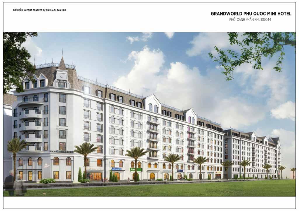 Mini Hotel Grand World Phú Quốc - Bảng Giá 2021