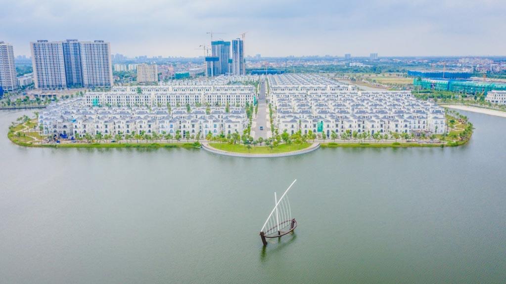 Tiến độ biệt thự Hải Âu Vinhomes Ocean Park cập nhật 2021