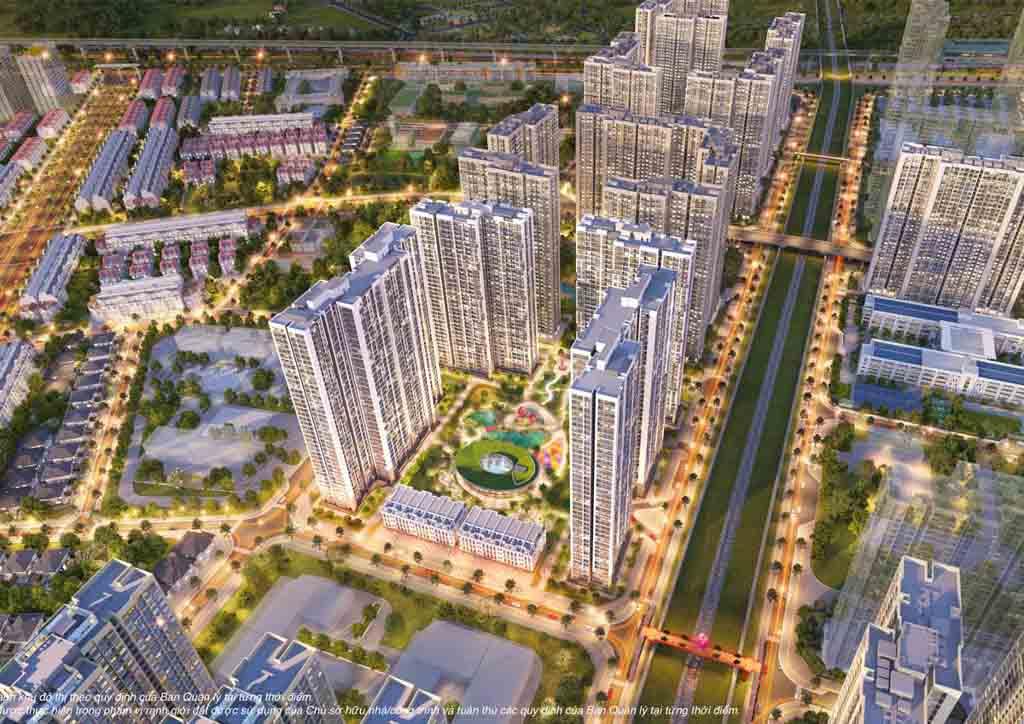 phoi canh the sakura vinhomes smart city