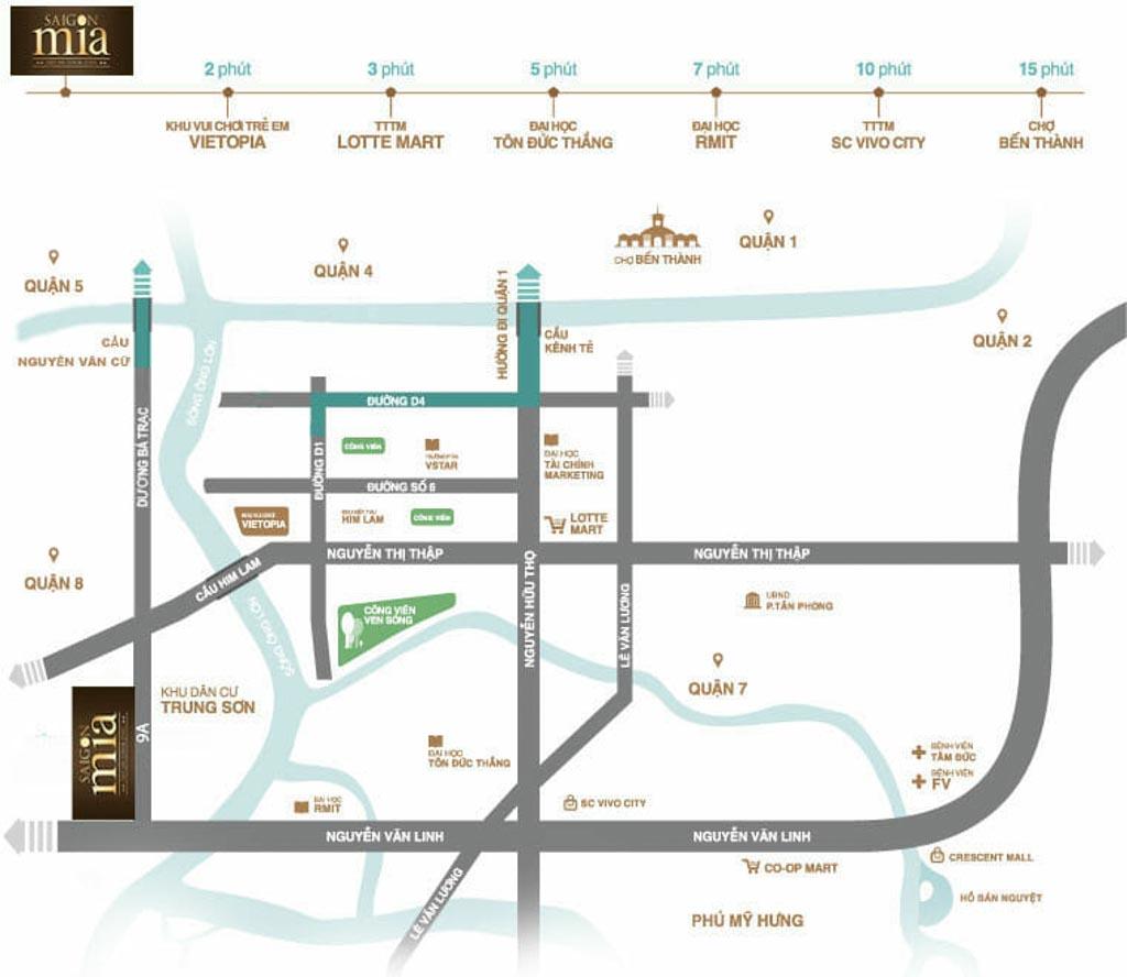 Vị trí Sài Gòn Mia ở đâu? Có gì tiềm năng?