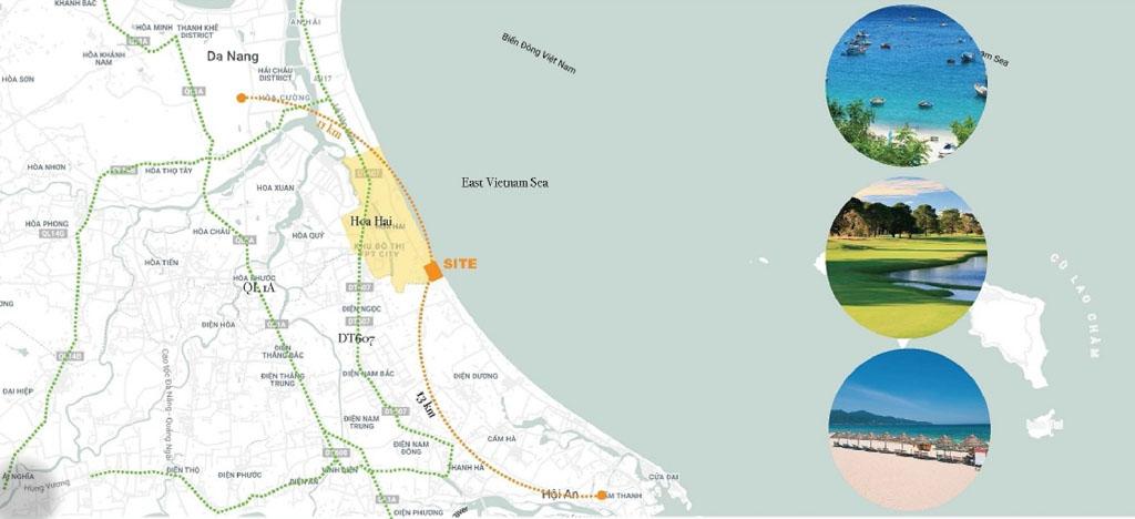 Vị trí Sunshine Heritage Đà Nẵng ở đâu? Có gì tiềm năng?