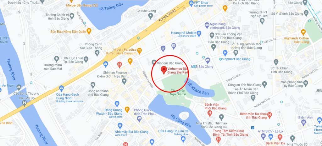 Vị trí Vinhomes Sky Park Bắc Giang ở đâu? Có gì tiềm năng?