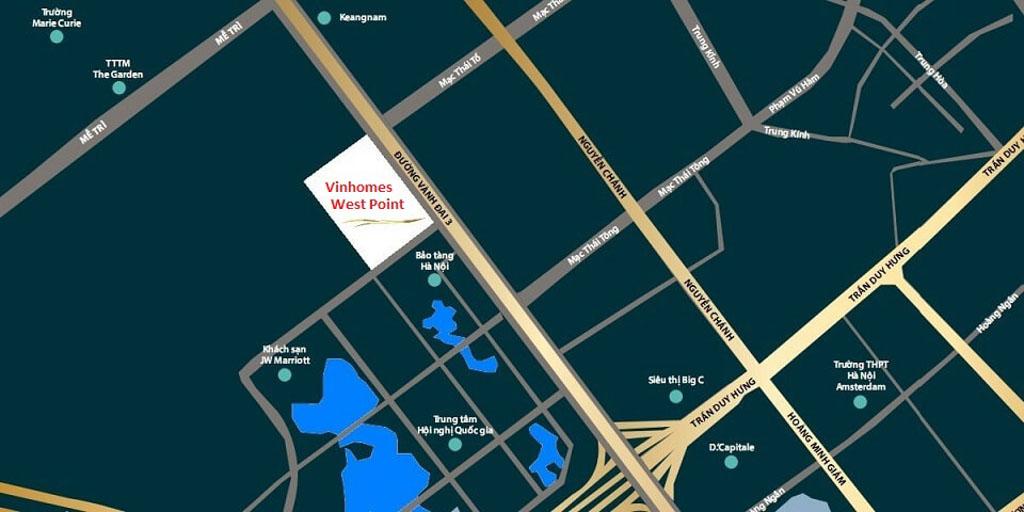Vị trí Vinhomes West Point ở đâu? Có gì tiềm năng?