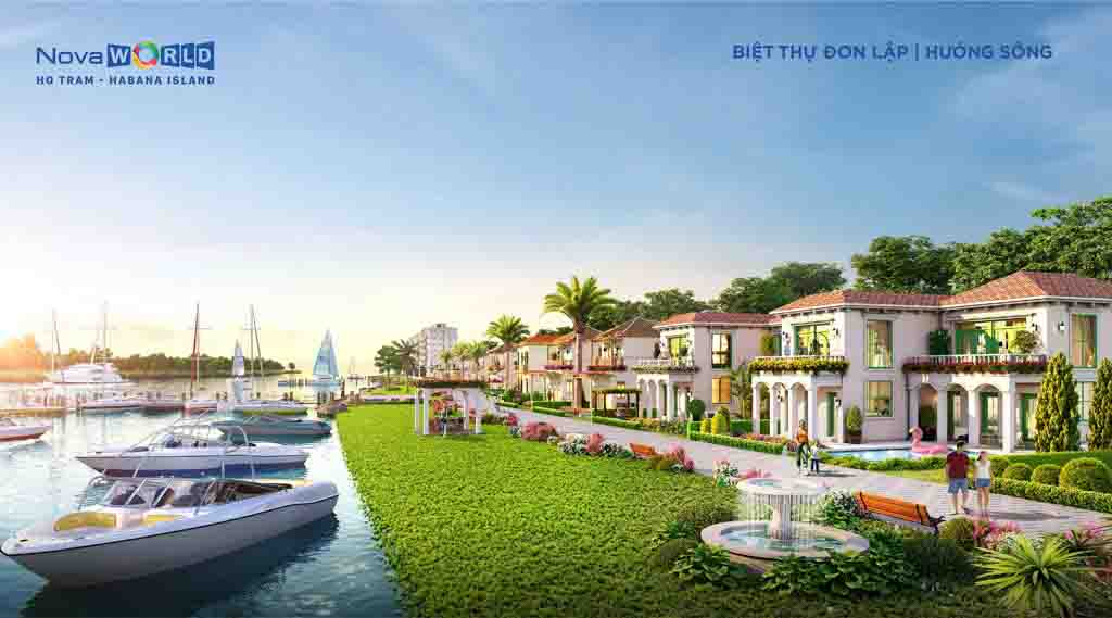 Biệt thự Novaworld Hồ Tràm - Tổng hợp giá bán 2021 & Phân tích các khu