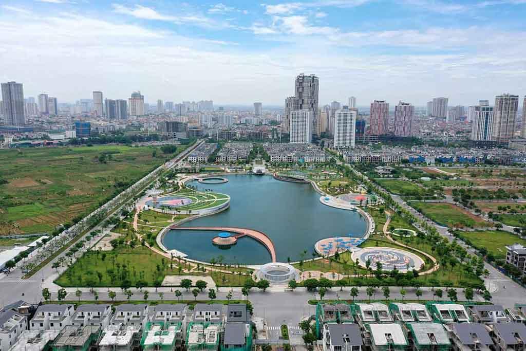 Tiến độ khu đô thị Dương Nội đã đến đâu?