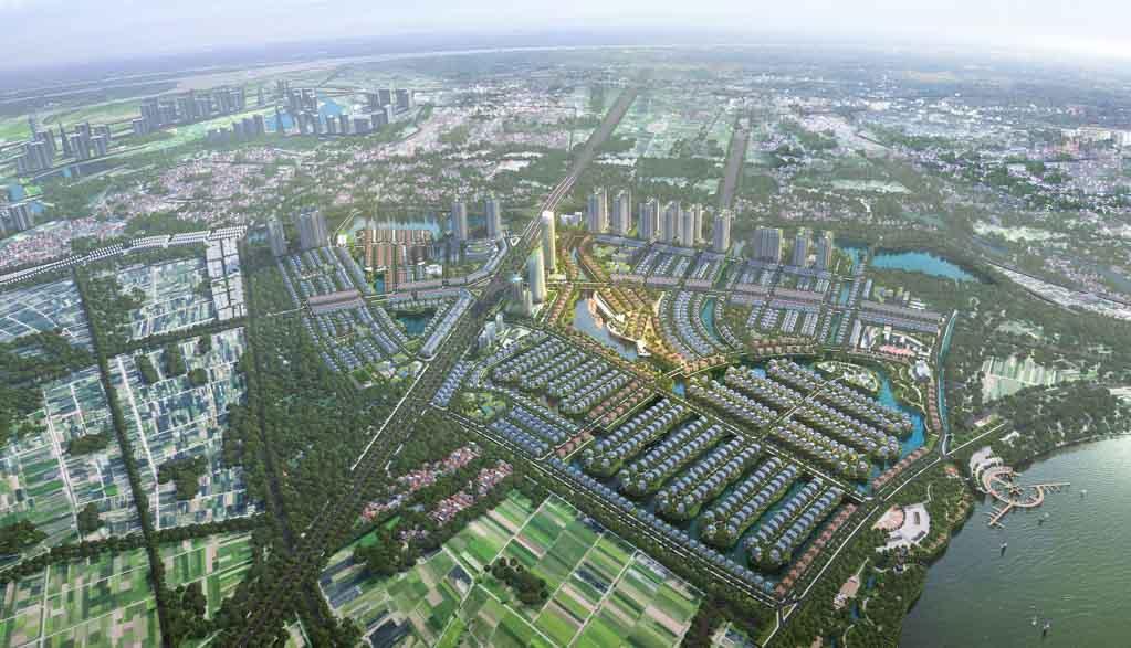 Khu đô thị sinh thái Văn Giang