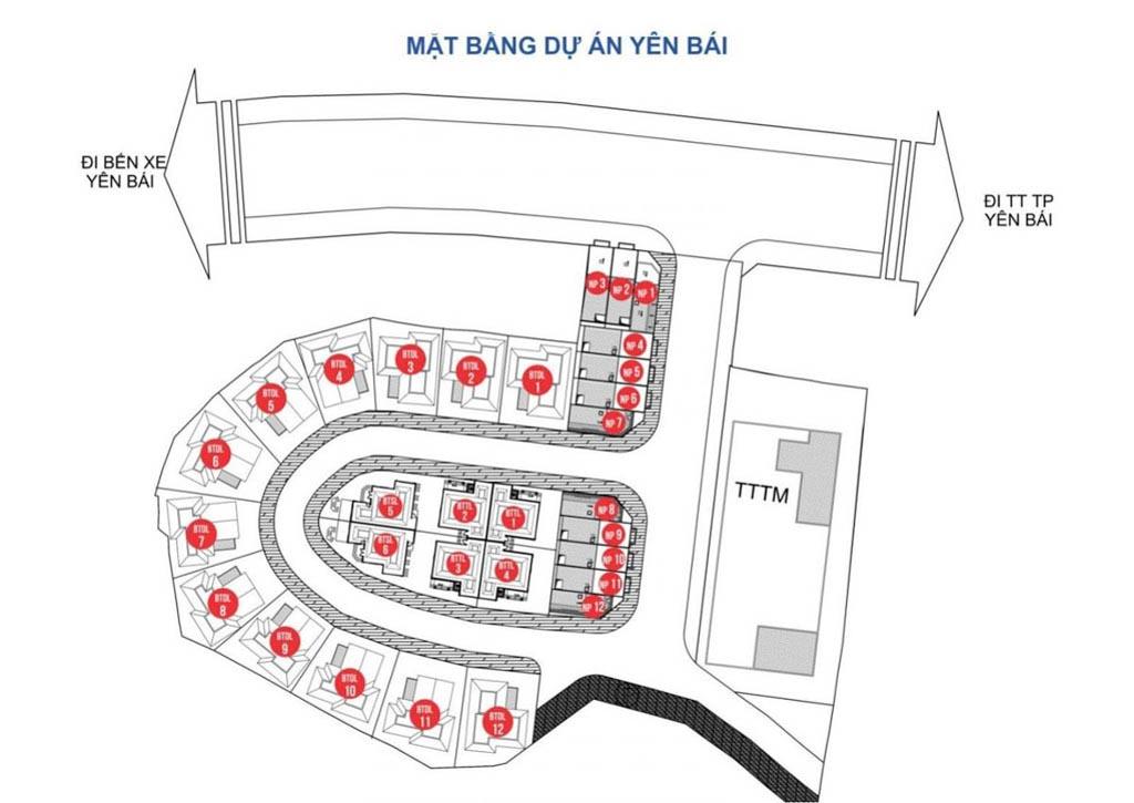 mat bang melinh plaza yen bai