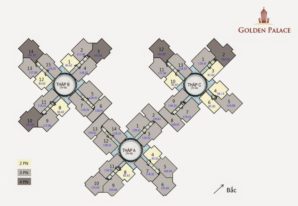 mat bang golden palace