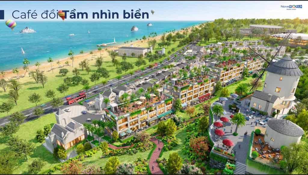 Shophouse Novaworld Phan Thiết - Tổng hợp giá bán 2021 & Phân tích các khu