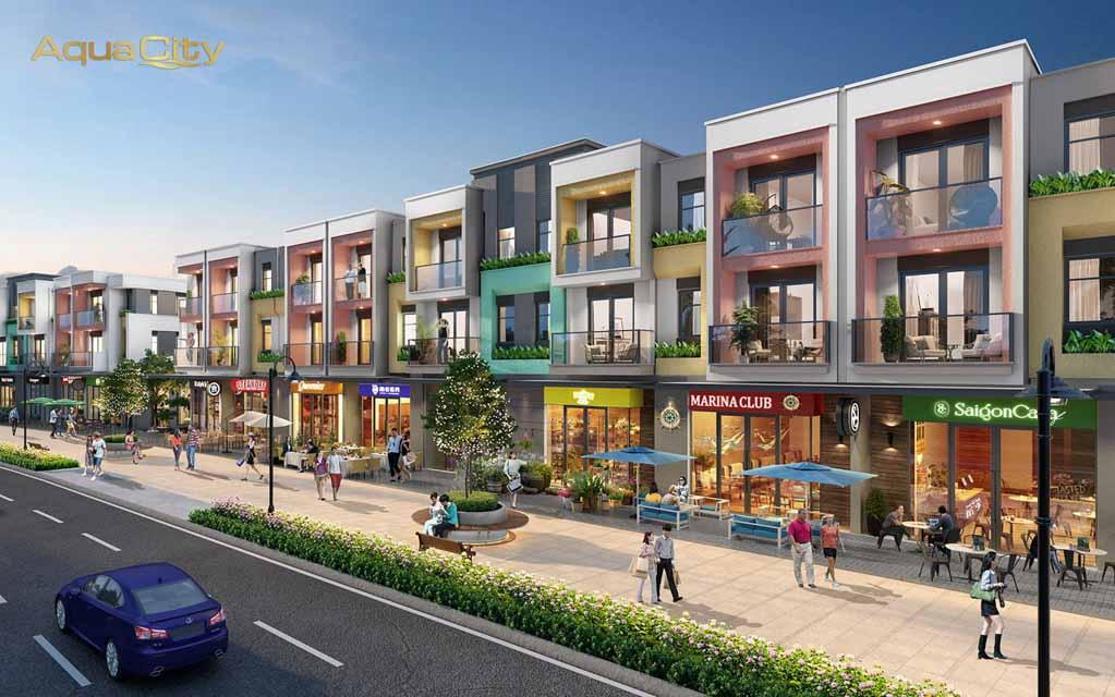 Shophouse Aqua City - Đánh giá & Bảng giá 2021 từng phân khu