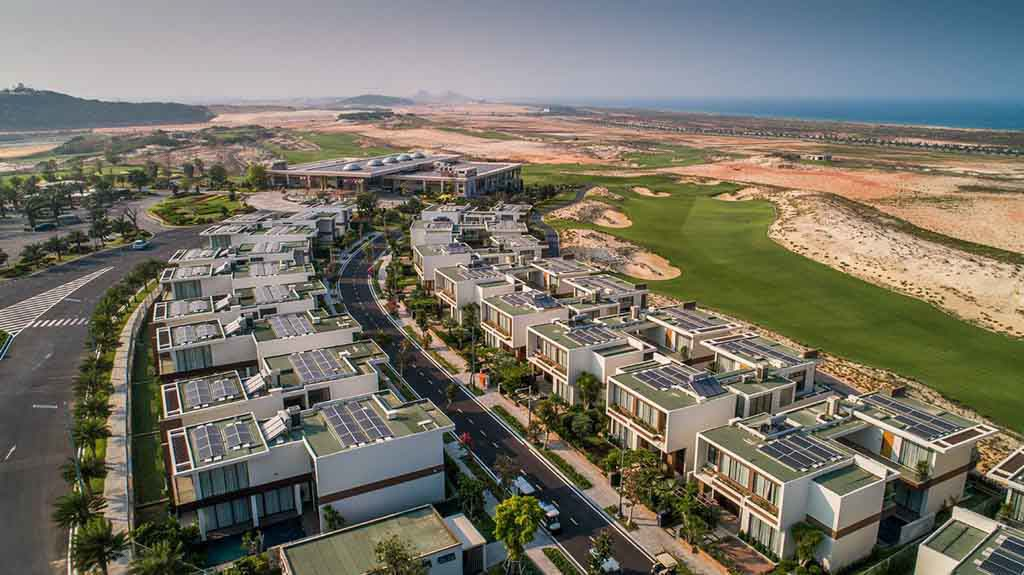 Tiến độ Sea Golf Villas cập nhật 2021