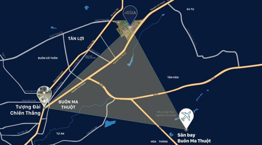 Vị trí EcoCity Premia ở đâu? Tiềm năng ra sao?