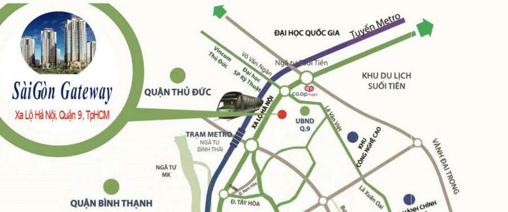 Vị trí Saigon Gateway ở đâu? Tiềm năng ra sao?